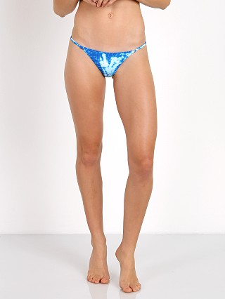 Frankie's Bikinis Shiloh Bottom Blue Crush Tie Dye
