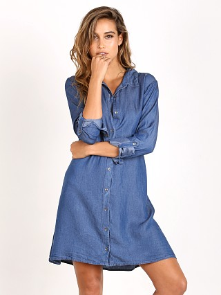 Splendid Shirt Dress Medium Wash
