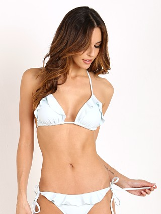 Eberjey So Solid Waverly Bikini Top Powder Blue