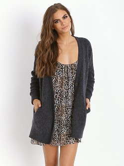 Free People Cloudy Day Cardigan Navy