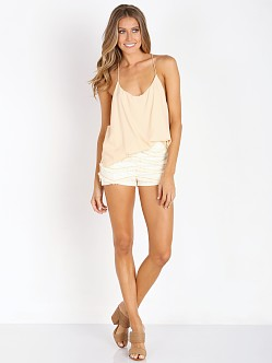 Wyldr Fringed Shorts Ivory