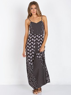 Wyldr Printed Maxi Dress Black/Beige