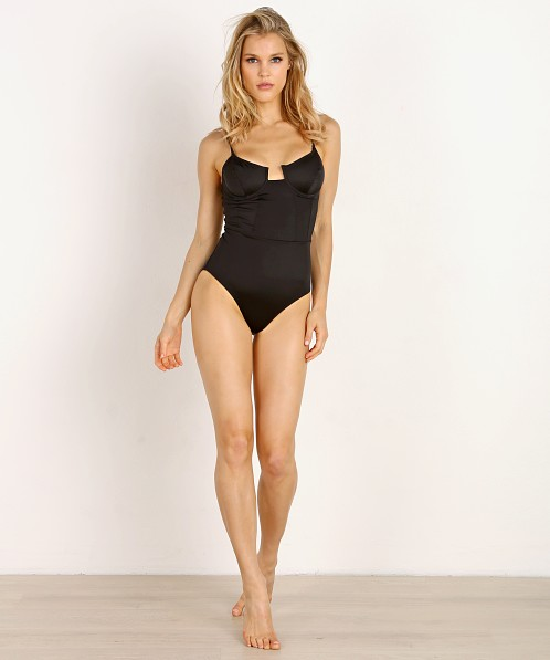 4b538a3bea Solid & Striped x RE/DONE The Hollywood One Piece Black WS-2048-1014 - Free  Shipping at Largo Drive