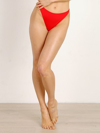 Solid & Striped The Hollywood Bikini Bottom Red