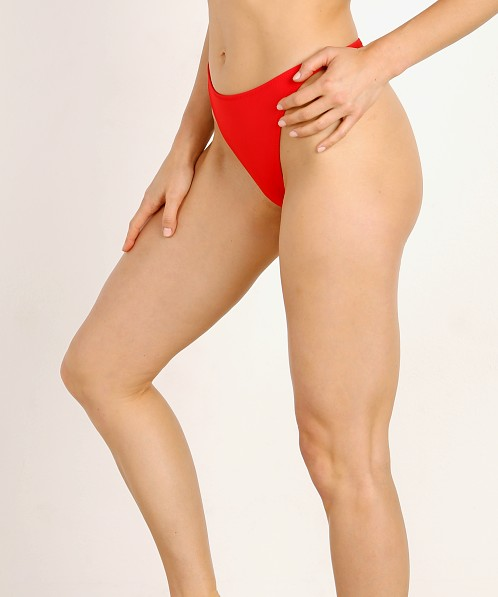 2b8f1467f238e Solid   Striped x RE DONE The Hollywood Bikini Bottom Red WS-2050-1512 - Free  Shipping at Largo Drive