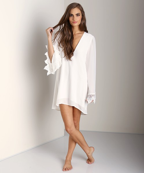 Stone Cold Fox Boardwalk Dress White