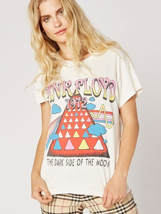 Daydreamer Pink Floyd 1972 Tour Tee Stone Vintage
