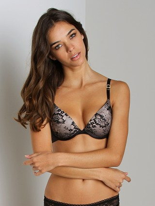 Stella McCartney Basic Lace Plunge Bra Black