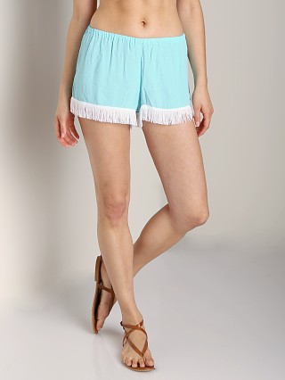 Show Me Your Mumu Froggy Fringe Knickers Mermaid Blue