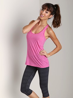 Beyond Yoga Looped Racerback Tank Atomic Pink
