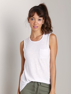 Beyond Yoga Muscle Tee White