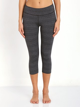 Beyond Yoga Essential Striped Leggings Black/Heather Stripe