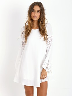 For Love & Lemons Festival Dress White