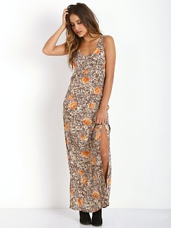 For Love & Lemons Midnight Cowgirl Maxi Rose Acid