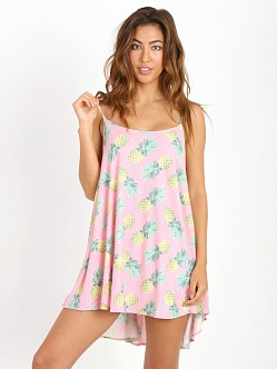 WILDFOX Pineapple Palace Beach Dress