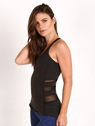 Beyond Yoga Triple Mesh Silhouette Tank Black