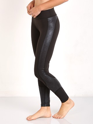 Beyond Yoga Glass Curved Side Long Legging Black Mist