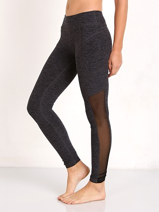 Beyond Yoga Spacedye Pocket & Mesh Long Legging Black/Steel