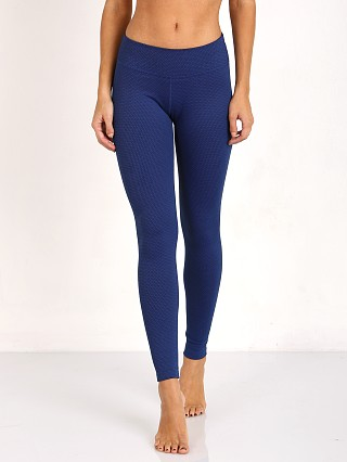 Beyond Yoga Deco Essential Long Legging Black/Cobalt