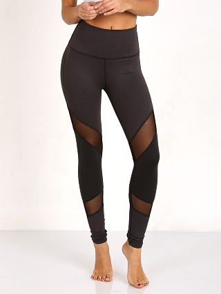 Beyond Yoga Deco Mirror Paneled High Waist Long Legging Black/St