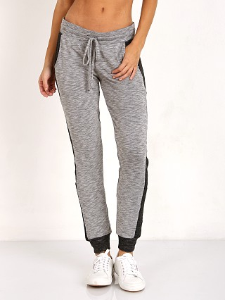 Beyond Yoga Double Faced Side Paneled Sweatpant Heather Grey/Bla