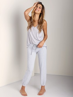 Splendid Skinny Active Pant Heather Grey