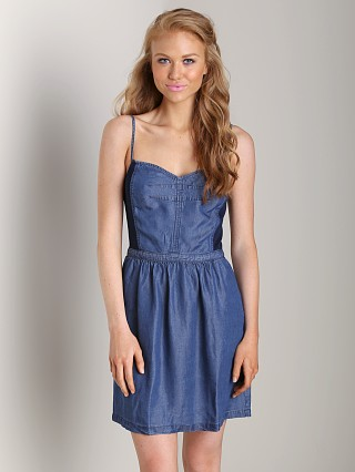 Splendid Chambray Cami Dress Dark Wash