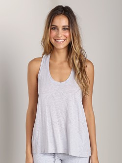 Splendid Drapey Lux Easy Tank Heather Grey