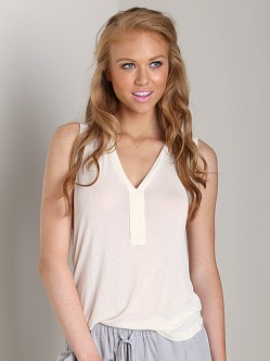 Splendid Placket Tank Bone