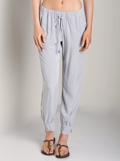Splendid Athletic Woven Pant Dove Grey