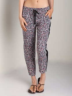 Splendid African Wildflower Printed Pant Black