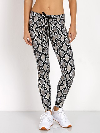 Indah Snickers Solid Drawstring Pant Tech Python