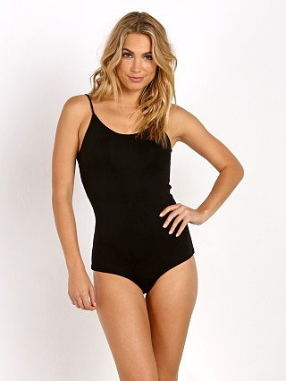 Indah Raw Ballet Bodysuit Black