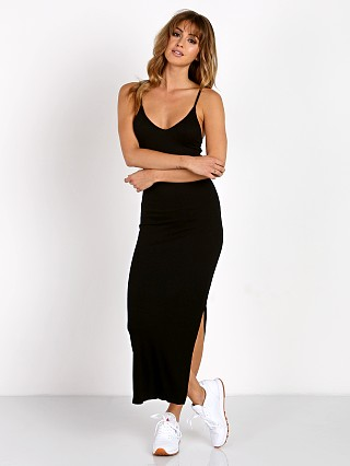 Indah Licorice Tank Dress Black
