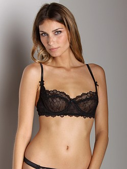Mimi Holliday Bisou Bisou Plunge Underwire Bra Black