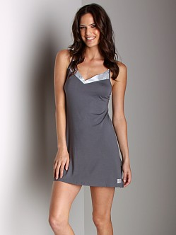 Calvin Klein Essentials V-Neck Chemise Grey
