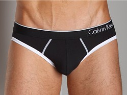 Calvin Klein One Microfiber Hip Brief Black