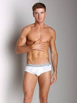 Calvin Klein One Cotton Stretch Brief White