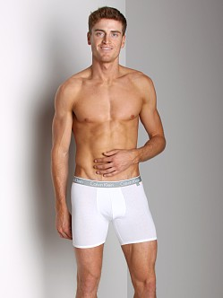 Calvin Klein One Cotton Stretch Boxer Brief White