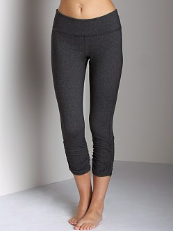 Beyond Yoga Gathered Legging Heather