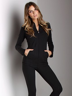 Beyond Yoga Curved Jacket Black