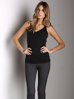 Beyond Yoga Tear Drop Cami Black