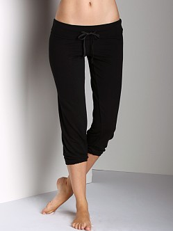Beyond Yoga Drawstring Capri Black