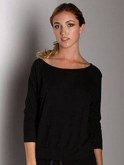 Beyond Yoga Raglan Pullover Black