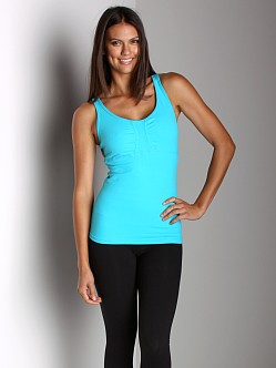 Beyond Yoga Tear Drop Cami Peacock Blue