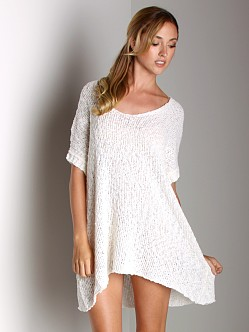 Free People Coasting Tee White