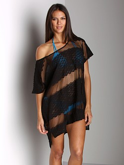 Free People Moonlight Breeze Top Black
