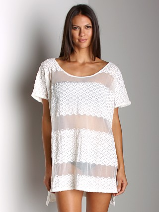 Free People Moonlight Breeze Top Ivory