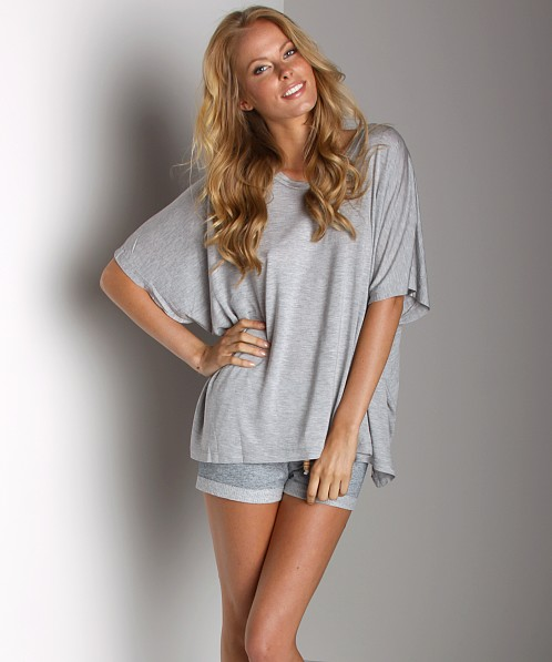 Dollimou Poncho Tee Heather Grey