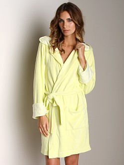 Splendid Terry Robe Pineapple